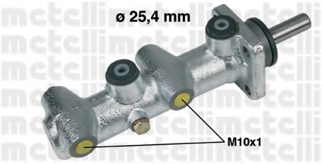 Главный тормозной цилиндр METELLI арт. 050110