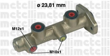 Главный тормозной цилиндр METELLI арт. 050172