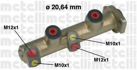 Главный тормозной цилиндр Metelli - 050194