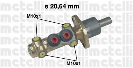 Циліндр гальмівний головний Metelli 050202