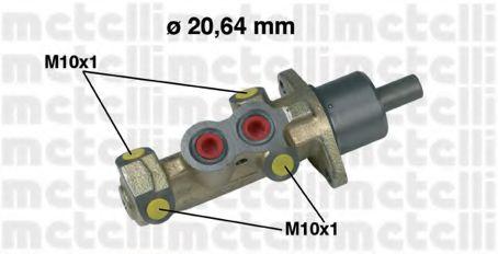 Циліндр гальмівний головний Metelli 050232
