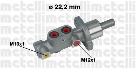 Циліндр гальмівний головний Metelli 050297