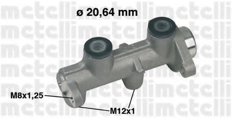 Циліндр гальмівний головний Metelli 050307