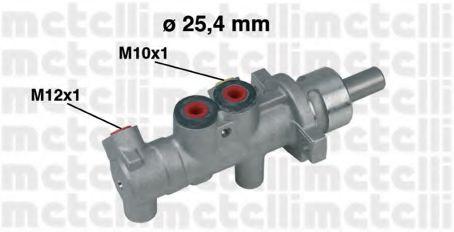 Циліндр гальмівний головний Metelli 050414