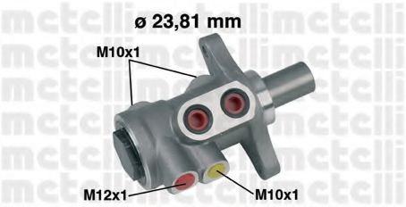 Главный тормозной цилиндр Metelli - 050455