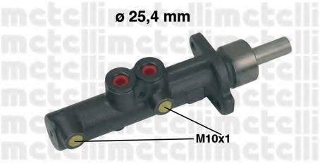 Главный тормозной цилиндр Metelli - 050473