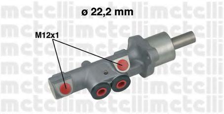 Циліндр гальмівний головний Metelli 050534