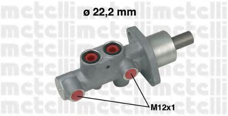 Циліндр гальмівний головний Metelli 050542