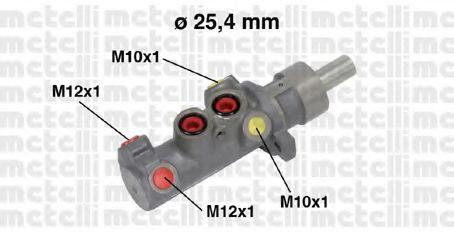 Циліндр гальмівний головний Metelli 050641