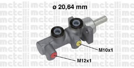 Главный тормозной цилиндр Metelli - 050697