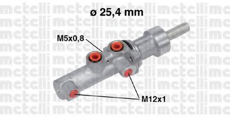 Циліндр гальмівний головний Metelli 050752
