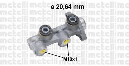 Циліндр гальмівний головний Metelli 050760