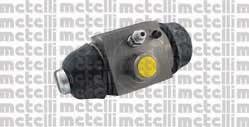 Циліндр гальмівний робочий Metelli 040333