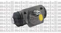 Циліндр гальмівний робочий Metelli 040605