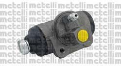 Циліндр гальмівний робочий Metelli 040616