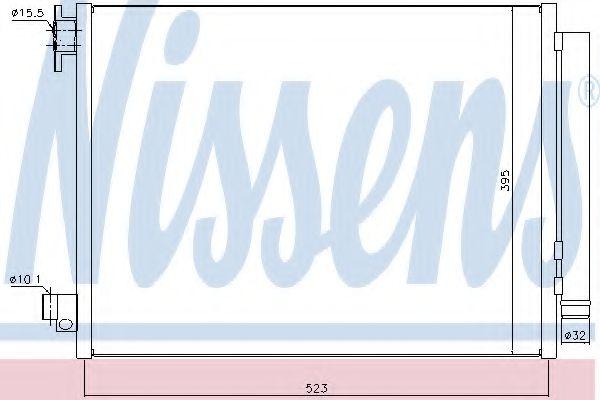 Конденсер кондиціонера Nissens 940321
