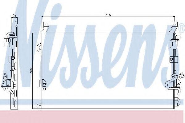 Конденсатор, кондиционер NISSENS арт. 94160
