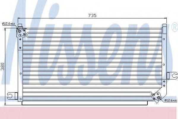 Конденсатор, кондиционер NISSENS арт. 94295