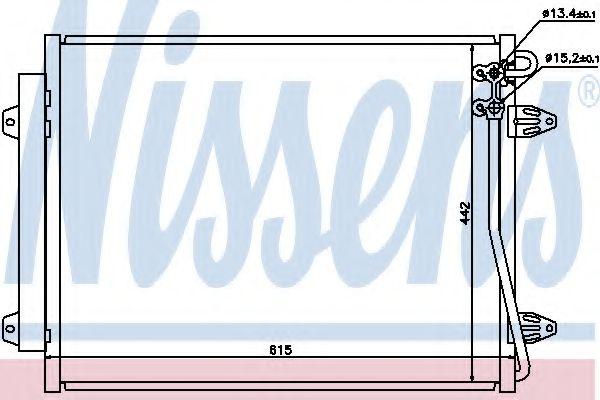 Конденсер кондиціонера Nissens 94832