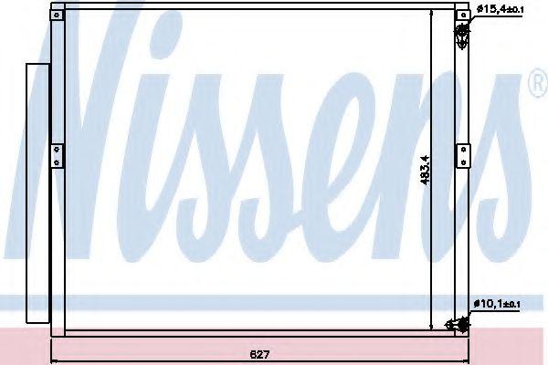 Конденсер кондиціонера Nissens 94919