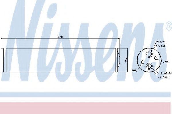 Осушитель, кондиционер NISSENS арт. 95241