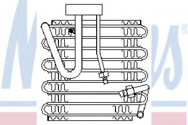Испаритель, кондиционер NISSENS арт. 92022