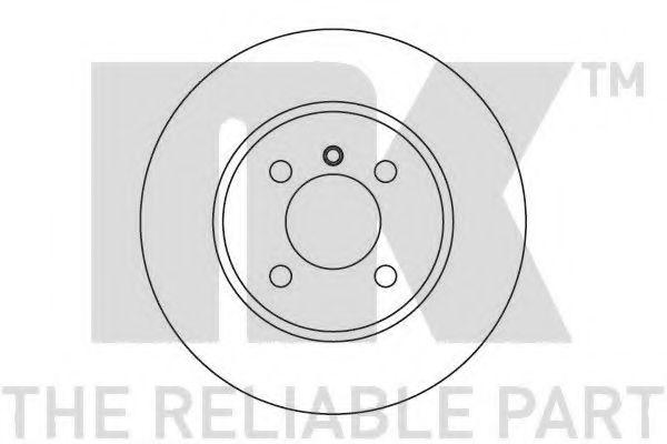 Тормозной диск NK арт.
