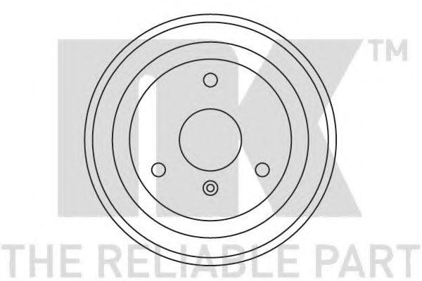 Тормозной барабан NK - 253303