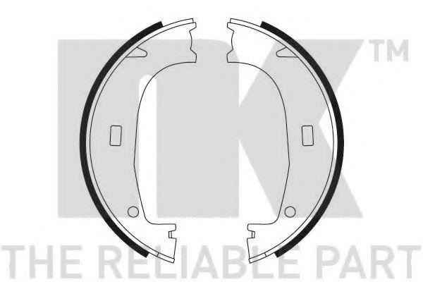 Колодки гальмівні барабанні NK 2715553