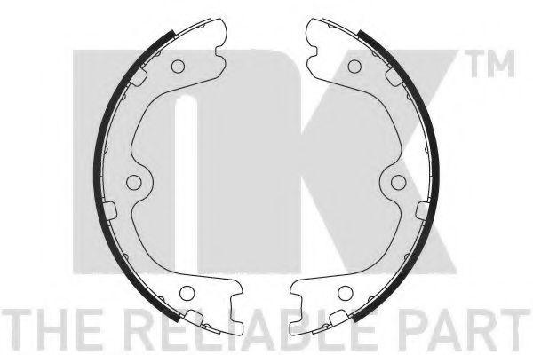 Колодки гальмівні барабанні NK 2722798