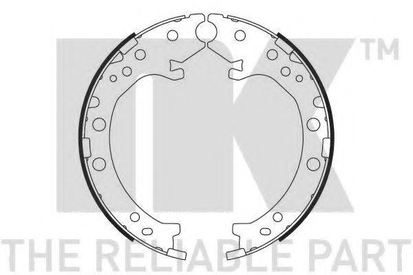Колодки гальмівні барабанні NK 2726803