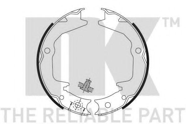 Колодки гальмівні барабанні NK 2730674