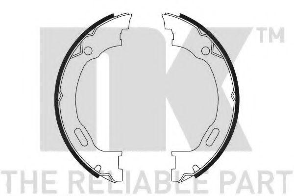 Колодки гальмівні барабанні NK 2733689