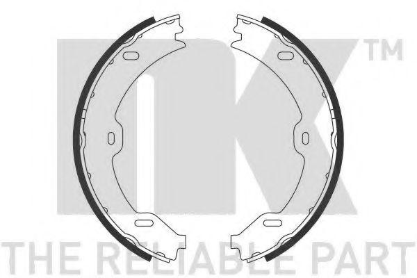 Колодки гальмівні барабанні NK 2733732