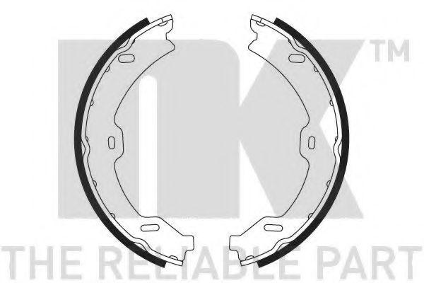 Колодки гальмівні барабанні NK 2733765