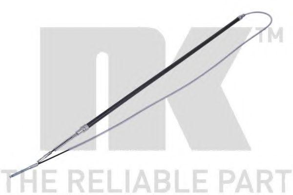 Трос, стояночная тормозная система NK арт. 901512