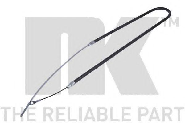 Трос, стояночная тормозная система NK арт. 901515