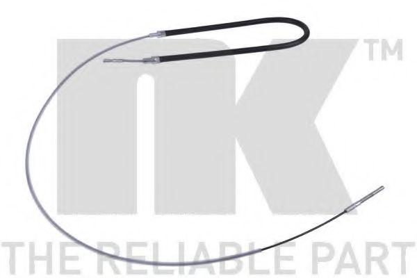 Трос, стояночная тормозная система NK арт. 901518