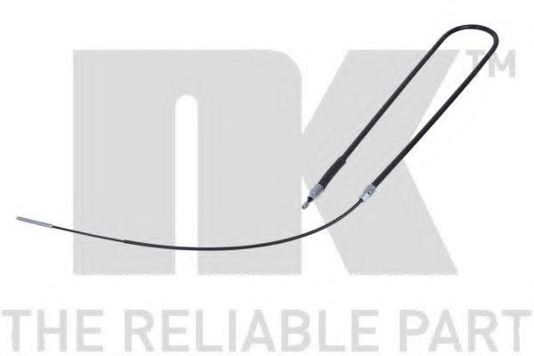 Трос, стояночная тормозная система NK арт. 901529