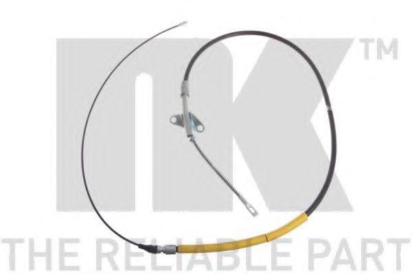 Трос, стояночная тормозная система NK арт. 903331