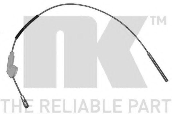 Трос, стояночная тормозная система NK арт. 903677