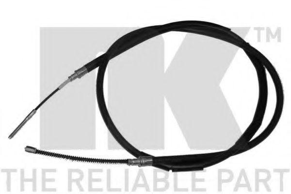 Трос, стояночная тормозная система NK арт. 904309