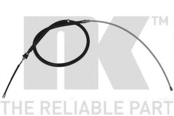 Трос, стояночная тормозная система NK арт. 904312