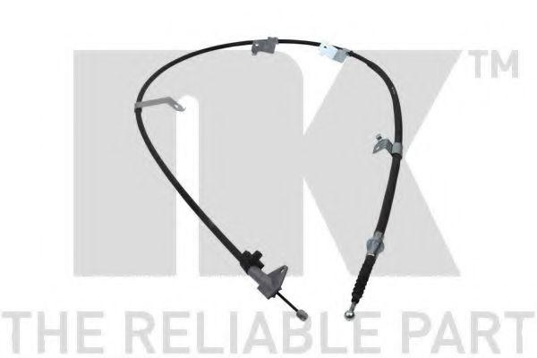 Трос, стояночная тормозная система NK арт. 9045195