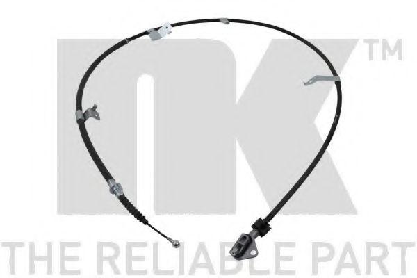 Трос, стояночная тормозная система NK арт. 9045204