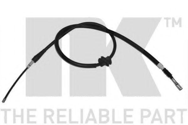 Трос, стояночная тормозная система NK арт. 904766