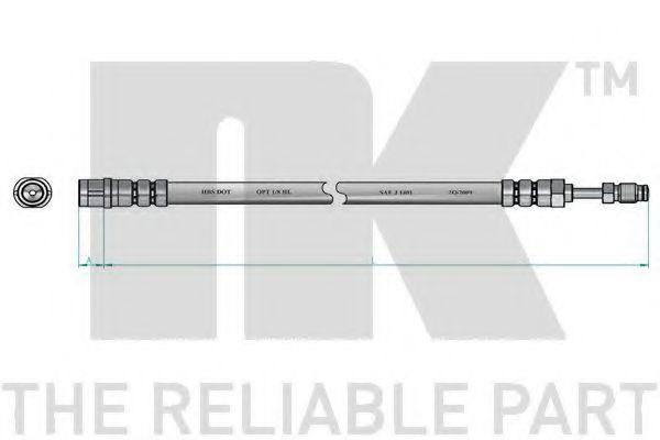 Тормозной шланг NK арт. 8547108