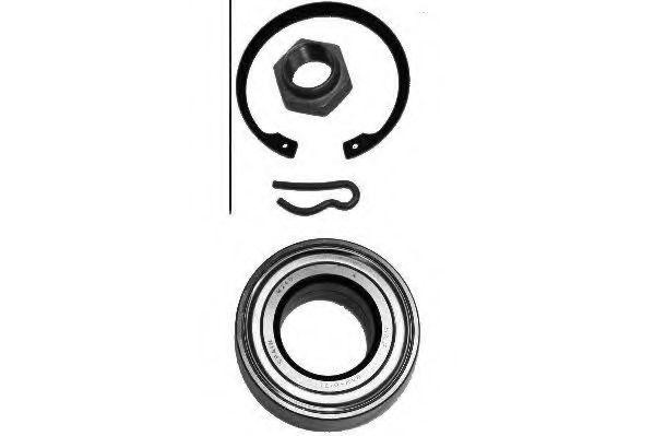 Комплект подшипника ступицы колеса MOOG арт.