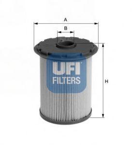 Паливний фільтр UFI 2669300