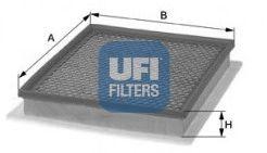 Воздушный фильтр UFI арт.